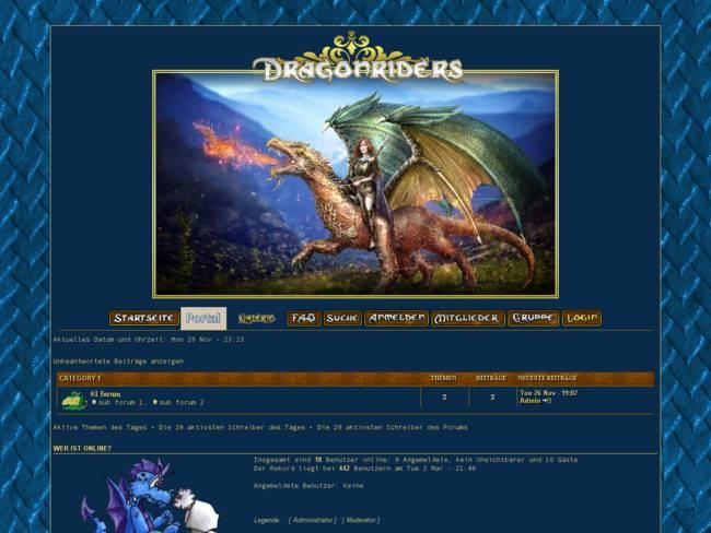 DragonridersSaphirBlau