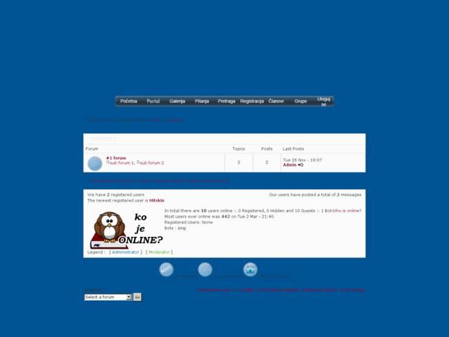 Klasicni skin za forum - SRB