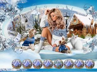 L hiver bleu