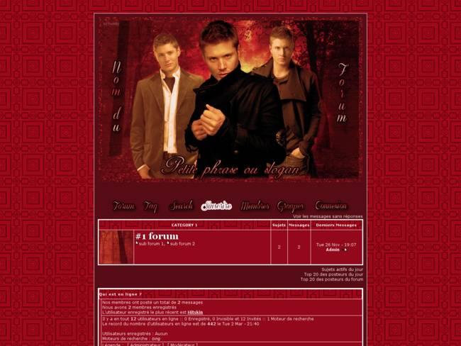 Jensen rouge