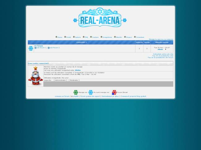 Real-Arena # 2015 Christmas