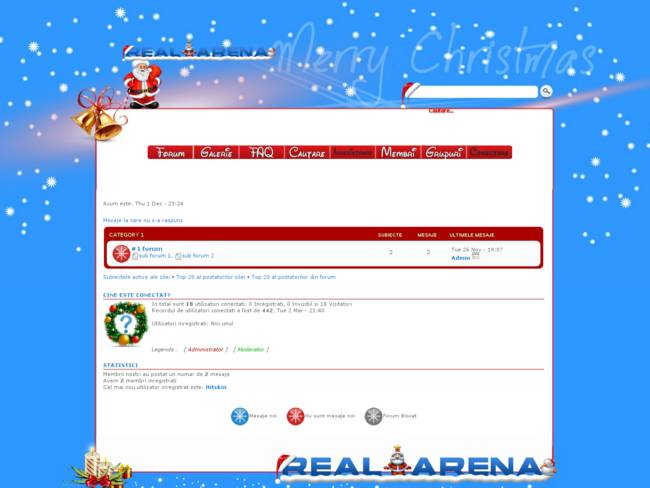 Real-Arena # Happy New Year