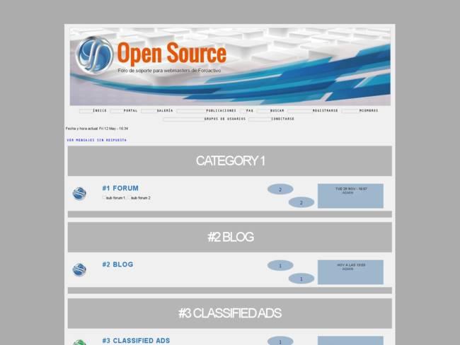 Open Source Gris