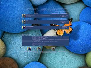 Forum - blau