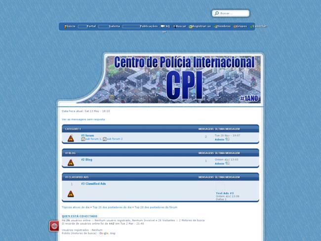 Polícia CPI ® Empregos