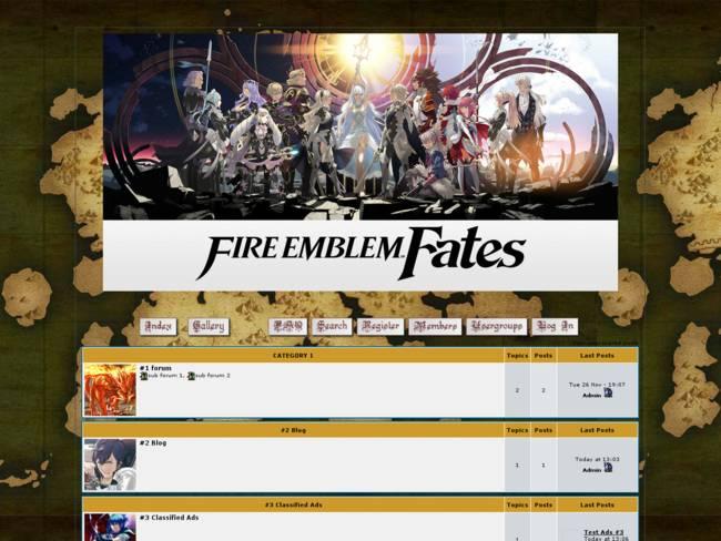 Fire Emblem Fates v 0.01