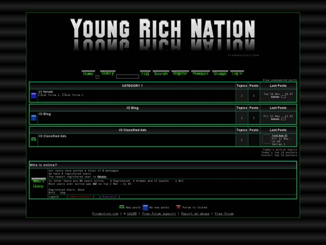 Young Rich Nation