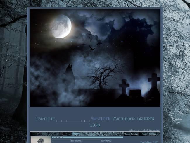 Fantasy  - blue