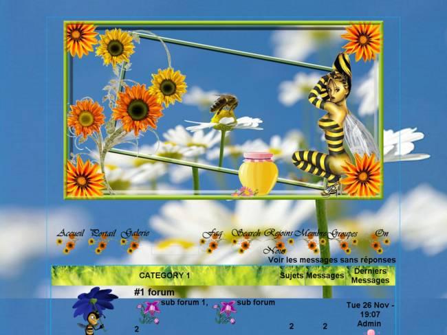 Belles abeilles