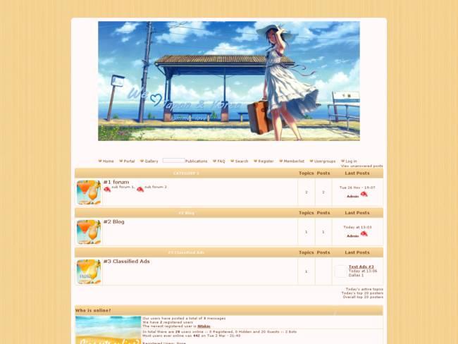 summer in Japan