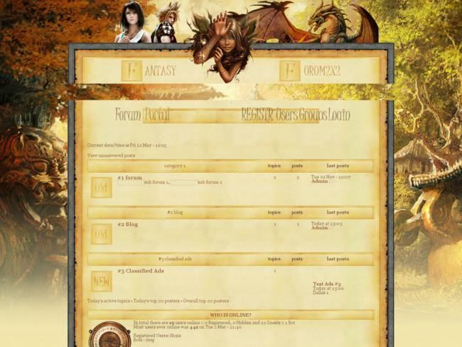 FANTASY RPG 2X2