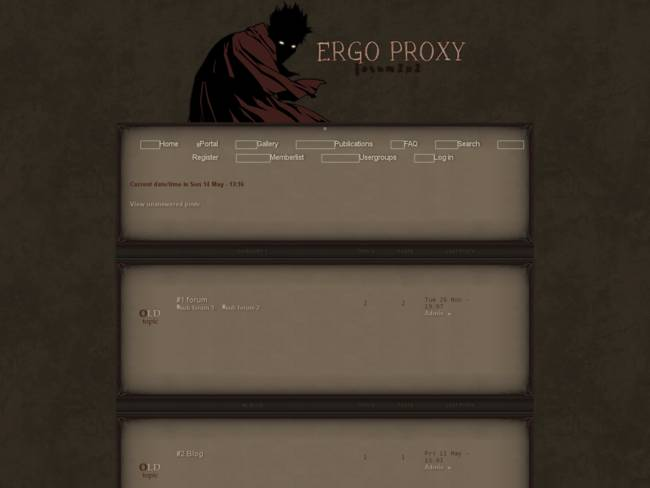 ERGO PROXY/FANTASY
