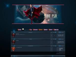 Superman dans les etoiles