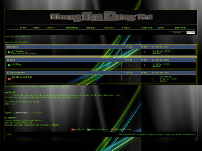 Welcome To : Hoang Hon Khong Tat