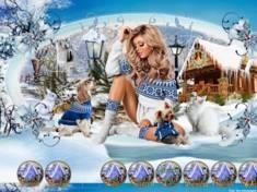 L hiver bleu 1