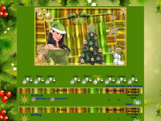Noël vert...