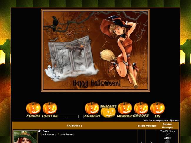 C'est Halloween sur le forum