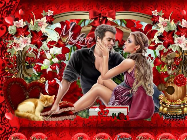 les amoureux de saint valentin