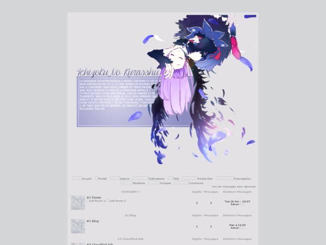Ichizoku No Kurrashu thème V2