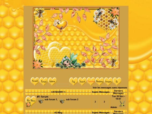 L'amour des abeilles...