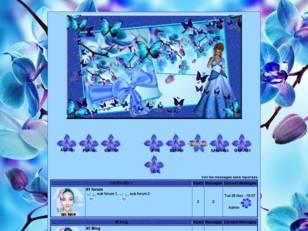 Du bleu des fleurs