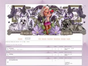 Design Purple Paws