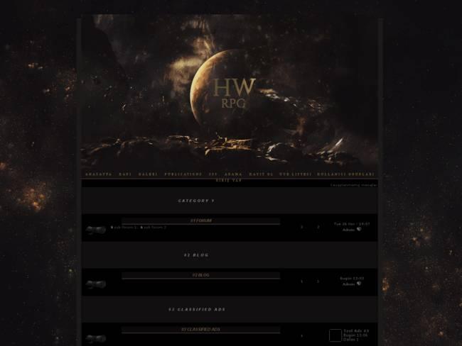 hogwarts-rpg.com Parşömen Tema