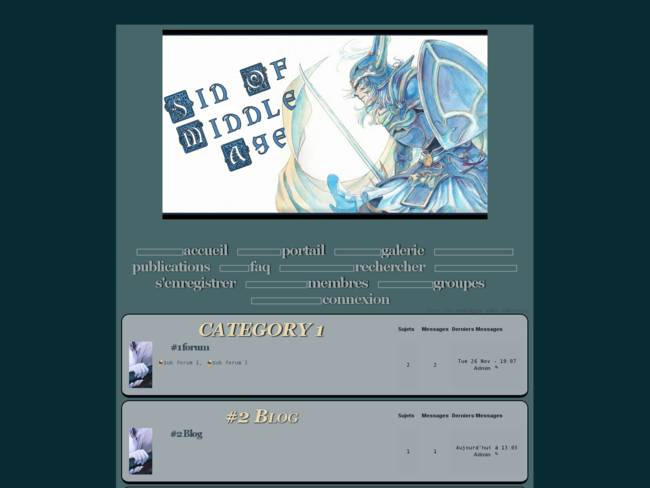 midle age blue