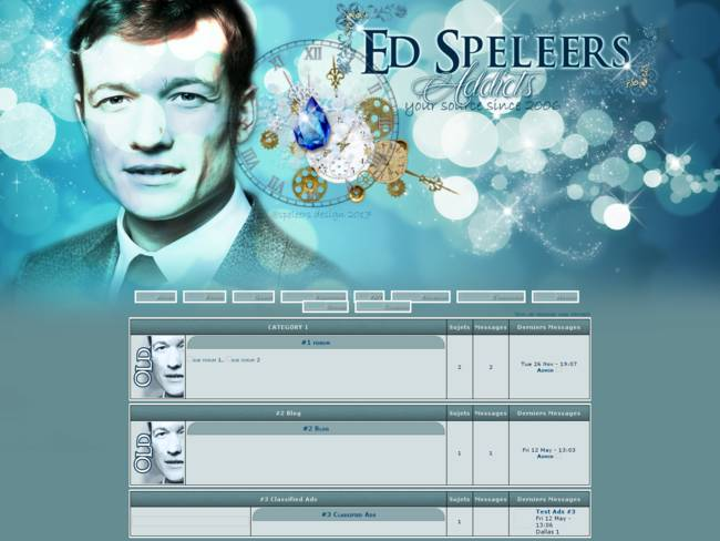 ed speleers addicts blue dream