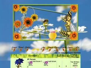 Belles abeilles, bel é...