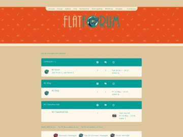 Flat Forum