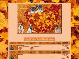 Les totous en automne...