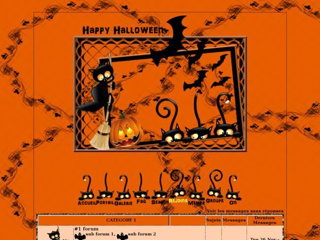 Happy Halloween et jolis matous