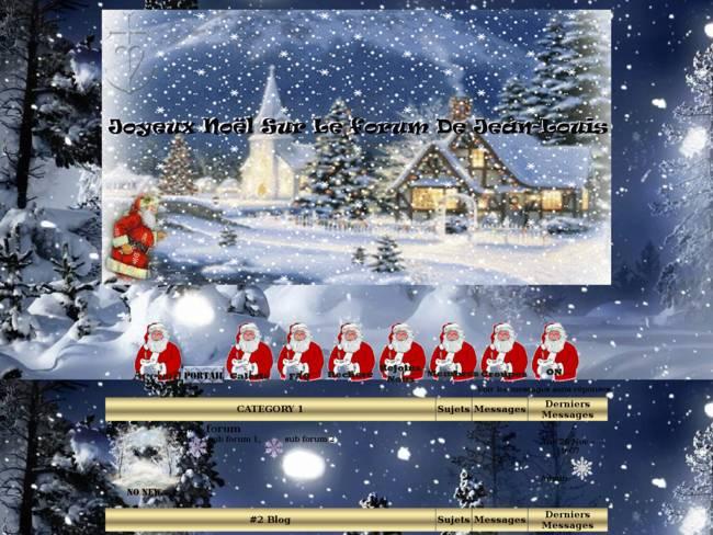 Père Noël du forum jean-louis