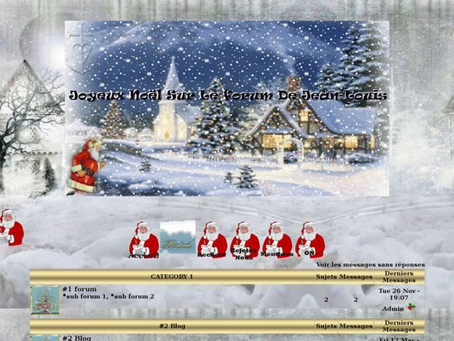 le forum De Noël