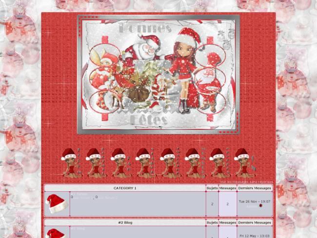 Noël En Rouge chez Cricri