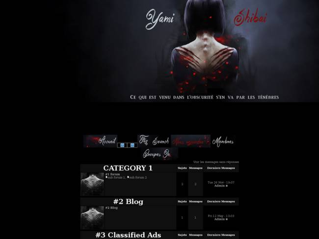 Yami Shibai : Dark version
