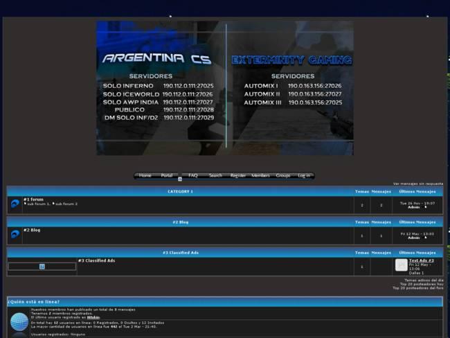 Argentina CS & Exterminity Gaming