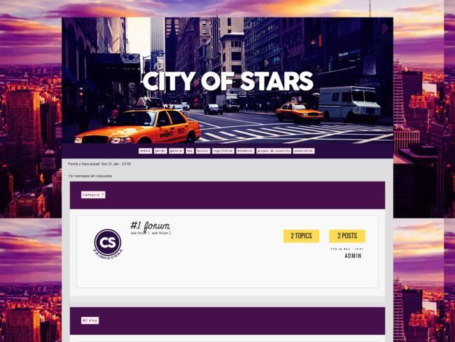 City of Stars