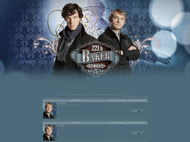 Sherlock Baker Street