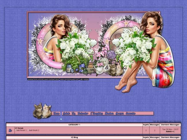 4 White Lilac