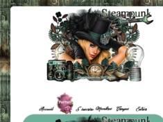 Steampunk en vert