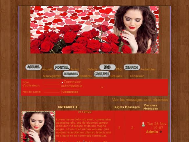 Femme aux roses