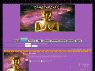 Namasté / boudha