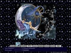 Fée sur la lune