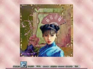 Jeune asiatique vêtue ...