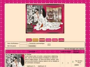 Jolie femme décor asie