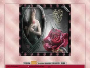 Ange et rose