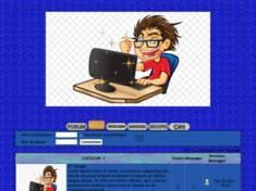Garçon / ordinateur