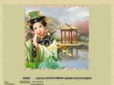 Asiatique à la flûte